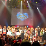 the fashion models at Campus Summit 2013 in Shibuya, Tokyo, Japan