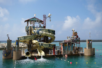 Pelican Point---the new water slides.