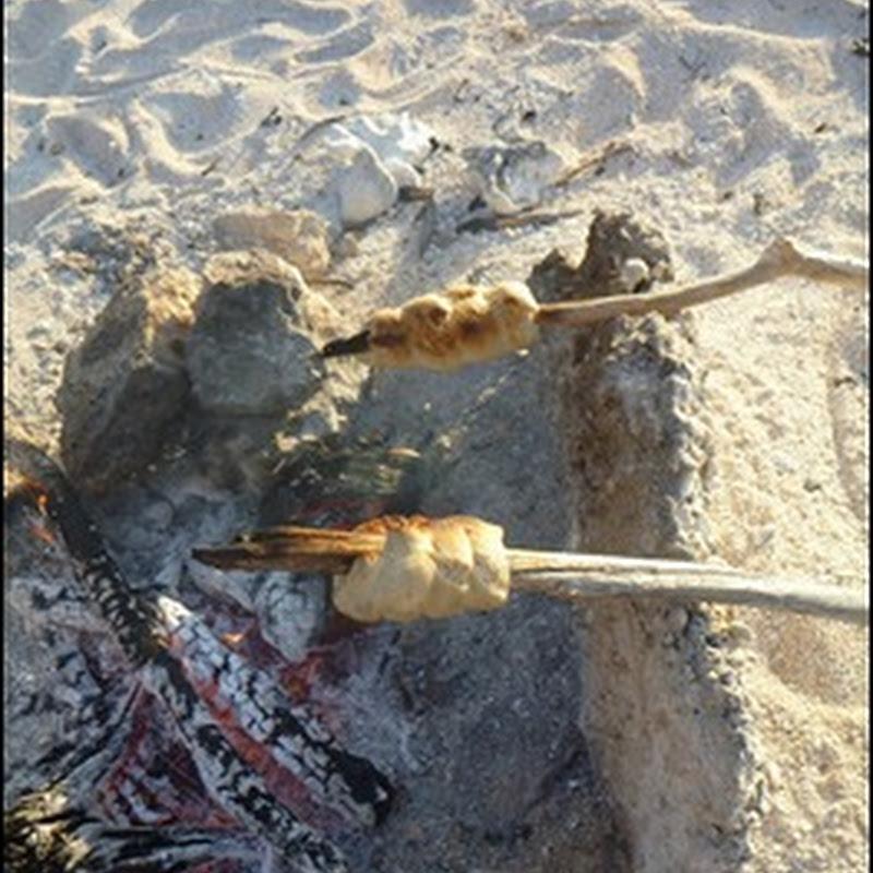Beach Fire Stick Bread