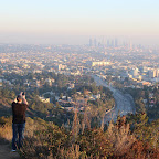 A nice view of LA from Mulholland Drive