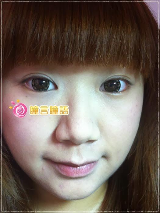 韓國GEO隱形眼鏡-芭比愛七彩鑽石咖7