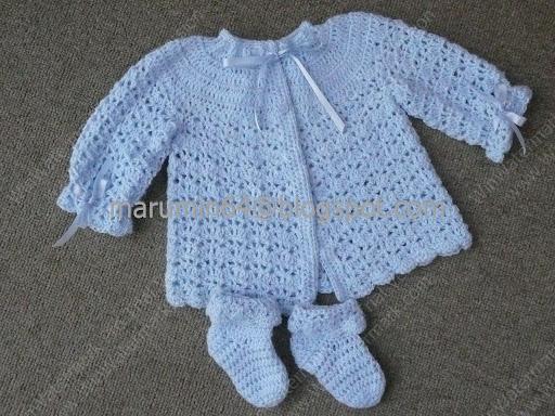 Chambritas De Bebe En Crochet