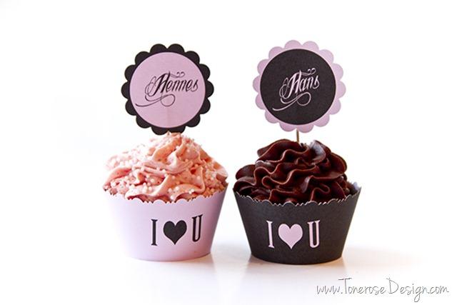 valentines dag cupcakes gratis print