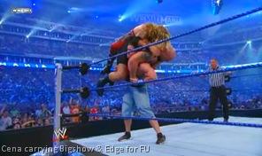 John Cena double FU
