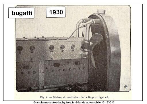 moteur bugatti type 49 1930