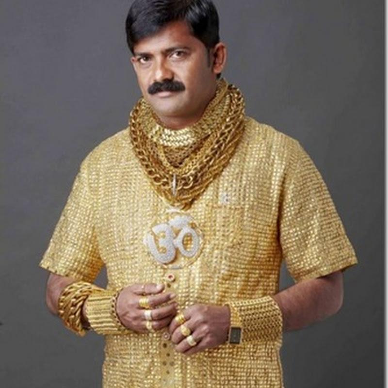 Un indian si-a facut la comanda un tricou din aur