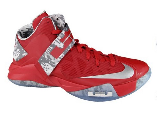 Digitized Version of Nike Zoom Soldier VI for Ohio State