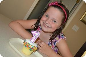She's seven!