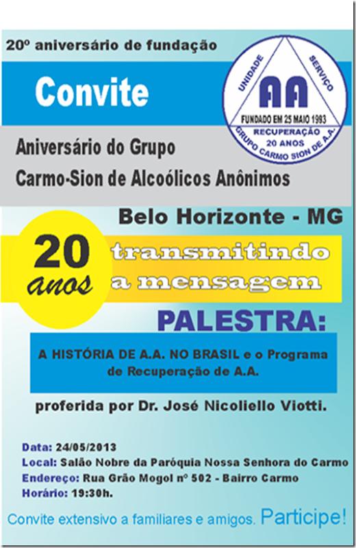 CONVITE CS2013