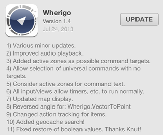 Wherigo version 1.4