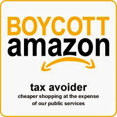 amazon boycott bumper sticker
