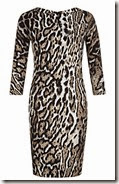 Just Cavalli Leopard Print Dress