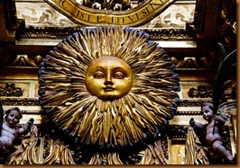Santaigo, sun face