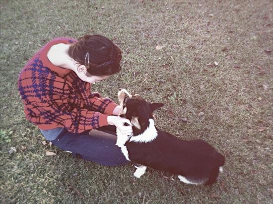 Leah+Puppy