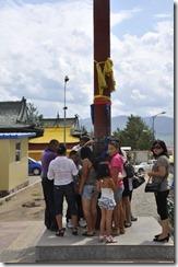 07-20 Gandan 031  pilier sacré