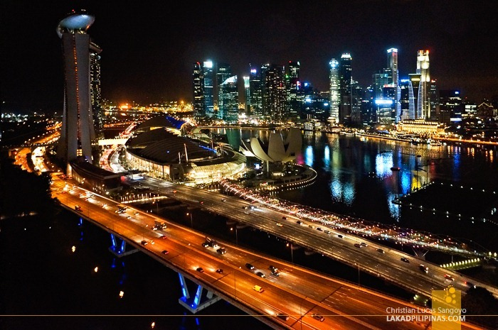 The Marina Bay from the Singapore Flyer