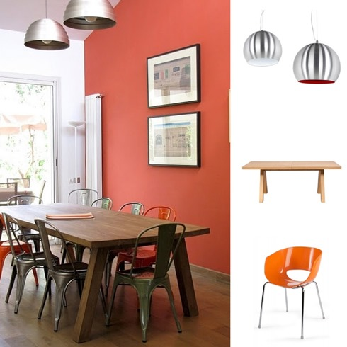 Wonenonline wij houden van oranje ook in huis - Kleur die past bij de grijze ...
