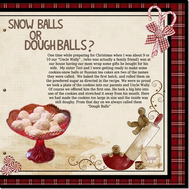 Snow Balls or Dough Balls