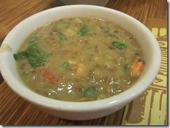 munggo soup, 240baon