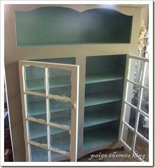 two window cabinet paint 2