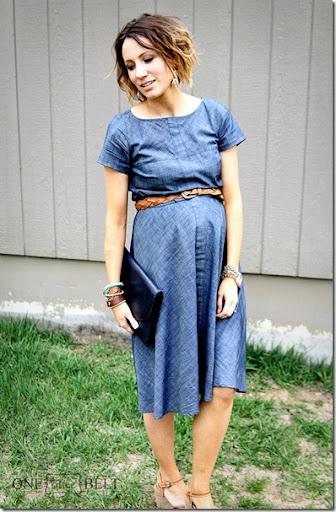 Chambray dress fashion