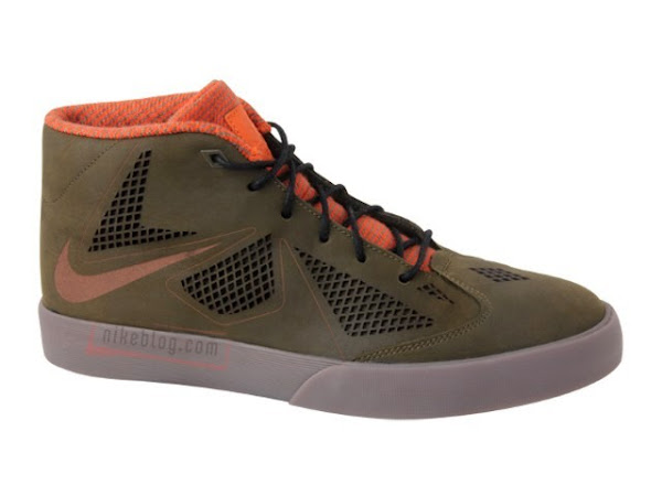 First Look at Nike LeBron X NSW Lifestyle Dark Olive  Orange