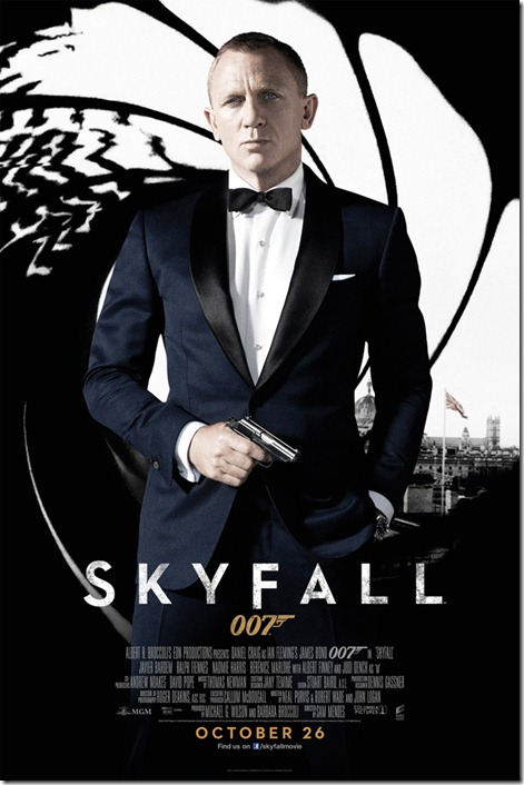 Skyfall UK Poster