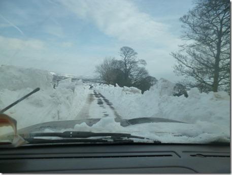 Snow at Wincle