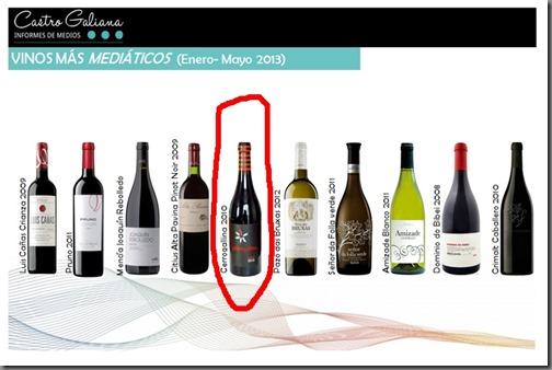 vinos mediaticos 2013