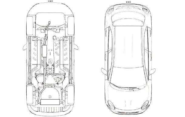 Fiat-500X-patent-top-and-bottom-view