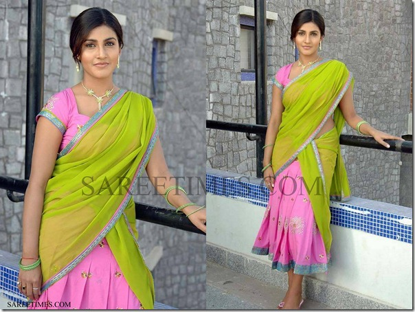 Kausha_Designer_Half_Saree