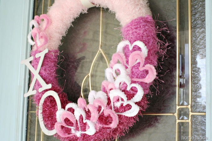 Valentine Wreath home.made.