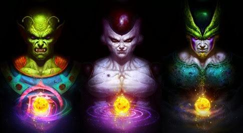 Fabulosas ilustraciones de Dragon Ball Z