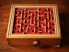 Kugellabyrinth - Nachgemacht - Spielekopien aus der DDR (1)