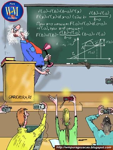 Alunos modernos - Já que as escolas se atualizam
