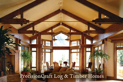 Golden Eagle Log Homes - Timber Frame Hybrid Option Explained