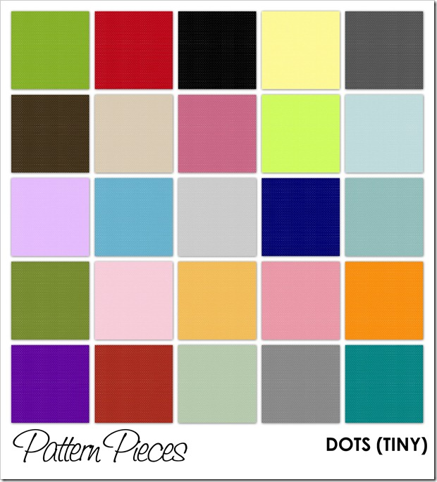 IMAGE - Pattern Pieces - Dots (Tiny)