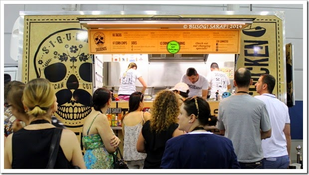 Good Food and Wine Show 2014 - Siguenos  © BUSOG! SARAP! 2014