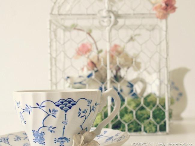 Spring Birdcage via homework  | carolynshomework.com