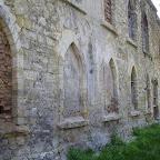 Фрагмент северной стены Старой синагоги. Современное состояние
