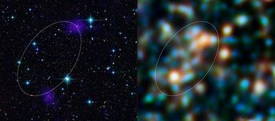filamento constituído de estrelas