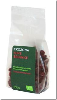 EKOZONA suhe brusnice 100 g Ekozona