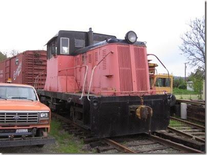 IMG_6446 Centralia-Chehalis Railroad Association Vulcan 45-Tonner on May 12, 2007