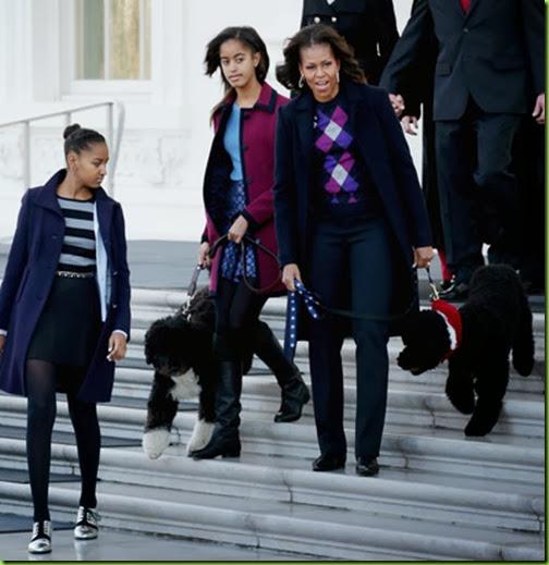 Michelle Obama Michelle Obama Receives Official 36cN16JV0JWl