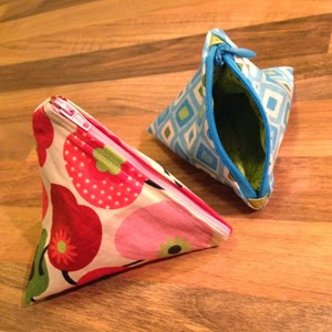 Triangular Pouches