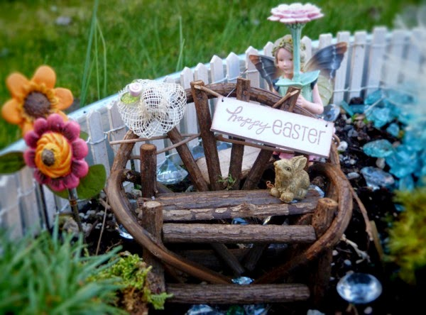 Fairy Garden from Blue Bells and Cockle Shells