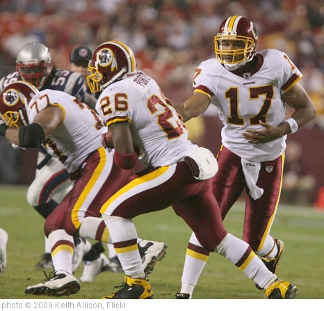 'Jason Campbell and Clinton Portis' photo (c) 2009, Keith Allison - license: http://creativecommons.org/licenses/by-sa/2.0/