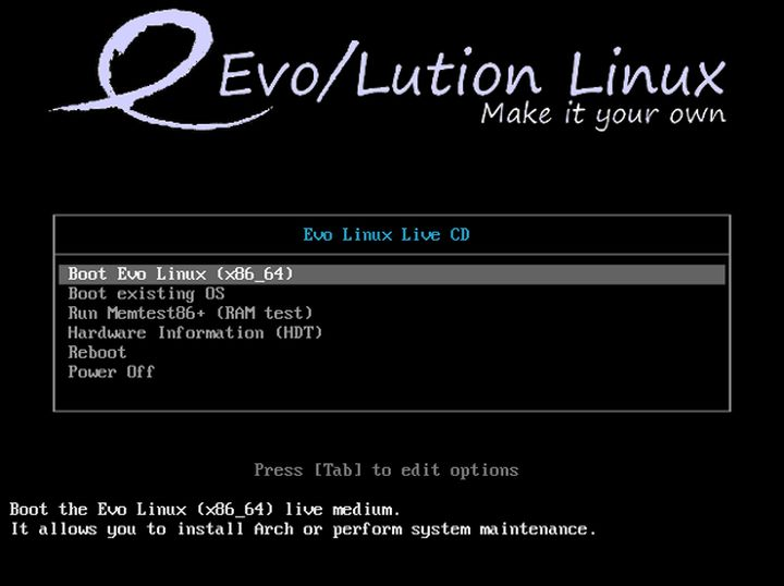 Evo/Lution Bootloader