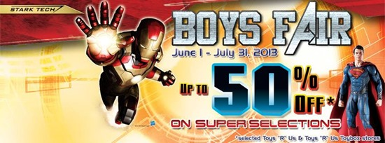 ToysRUs Boys Fair