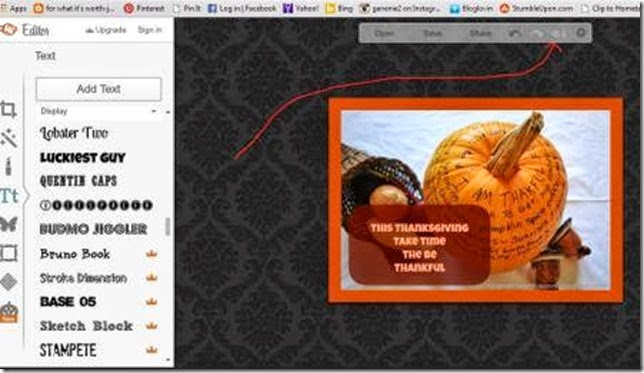 merge overlays to photo